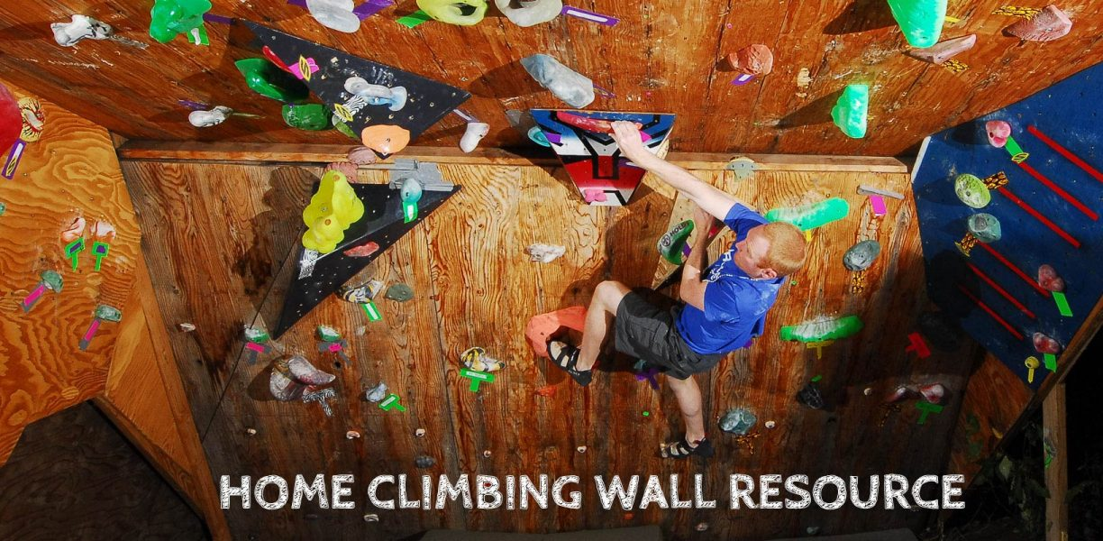 Tips and Tricks for your Home Climbing Wall